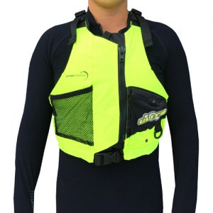 """Life Jacket"" PFD -OceanPaddler Racing vest (High Vis Yellow)"