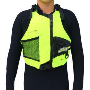 """Life Jacket"" PFD -OceanPaddler Racing vest (High Vis Yellow)"