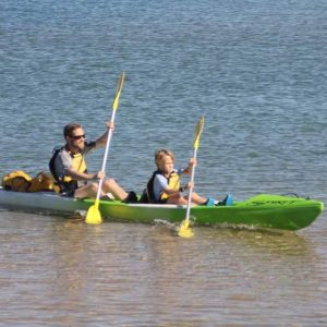 Kayak Hire - DOUBLE Spirit CTR