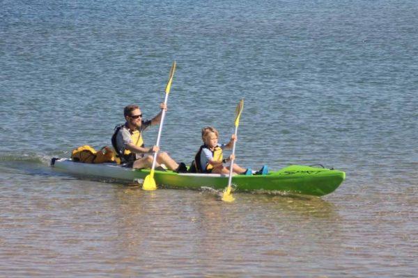 Kayak Hire - DOUBLE Spirit CTR